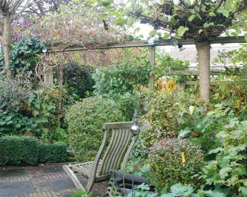 Tuin in rust, tijd voor plannen maken
